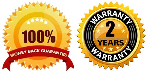Autovacbot Money Back Guarantee And 2 Years Warranty