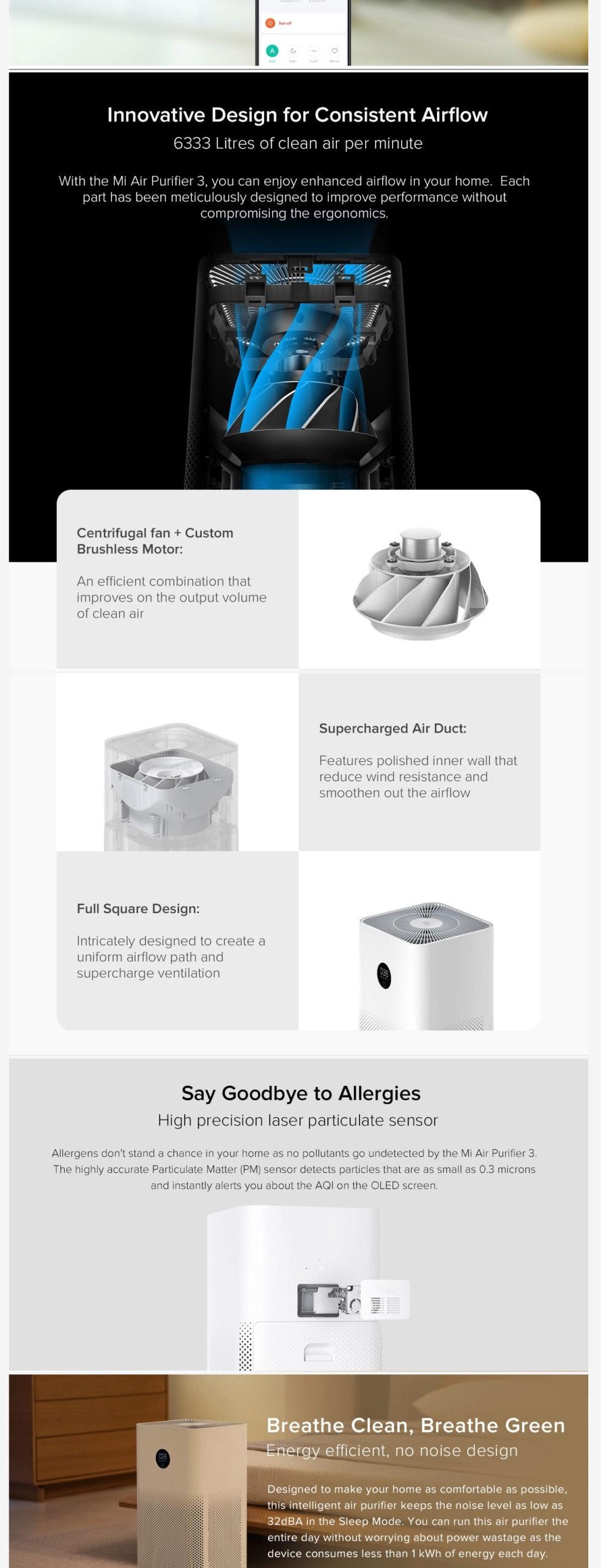 Xiaomi Mi Air Purifier 3h 3