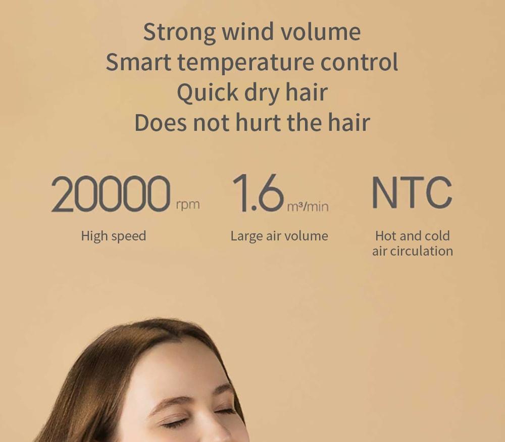 Xiaomi Mijia Ionic Hair Dryer Ntc 11