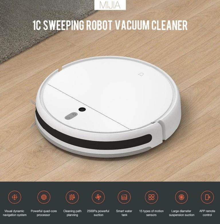 Xiaomi Mijia Robot Vacuum 1c 5