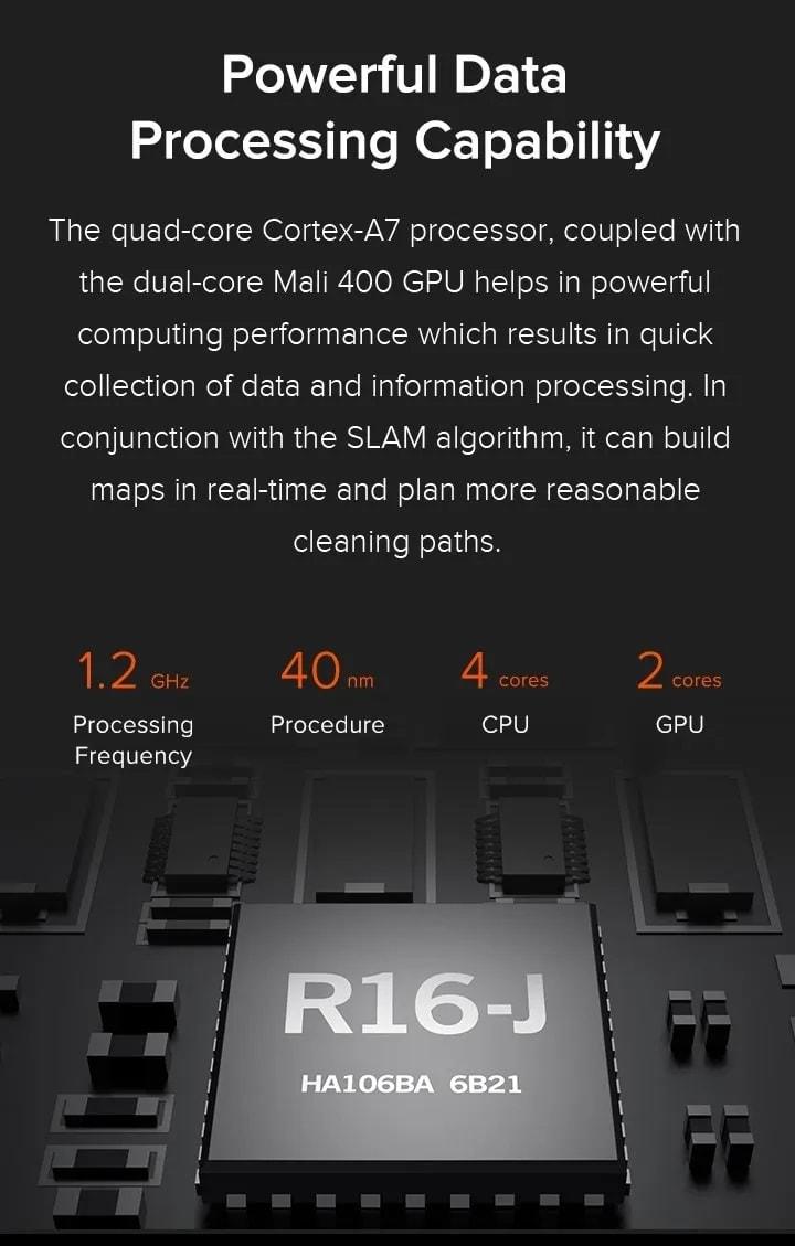 Xiaomi Mi Robot Vacuum Mop Cleaner Pro 12