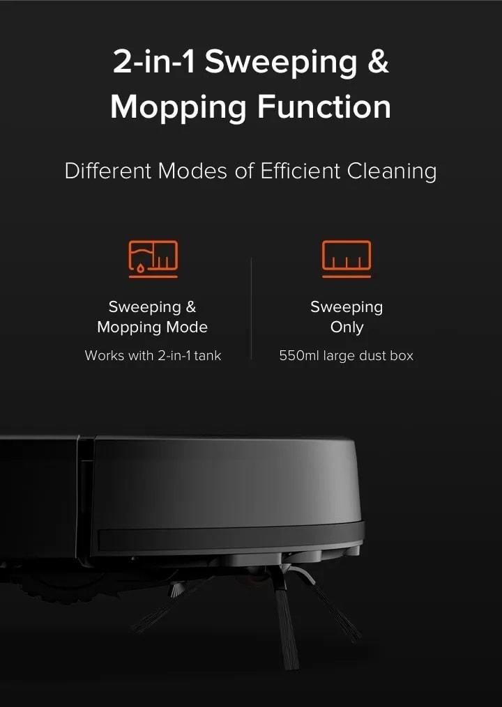 Xiaomi Mi Robot Vacuum Mop Cleaner Pro 2