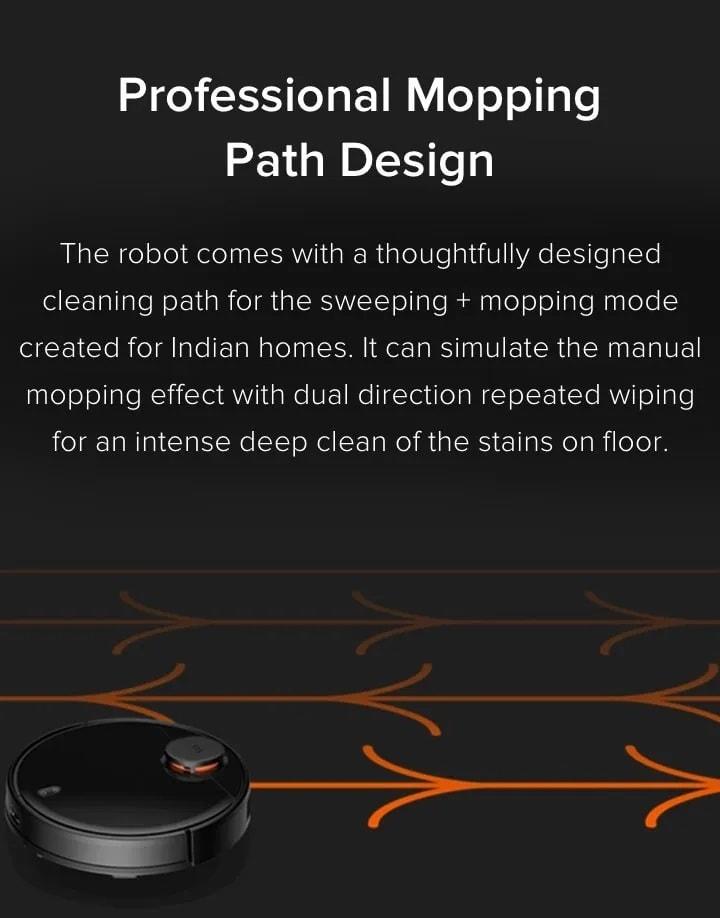 Xiaomi Mi Robot Vacuum Mop Cleaner Pro 4
