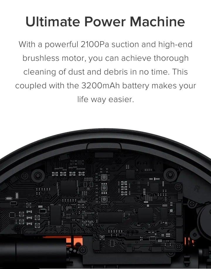 Xiaomi Mi Robot Vacuum Mop Cleaner Pro 6