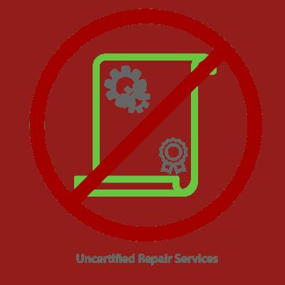 Uncertified Repair Services